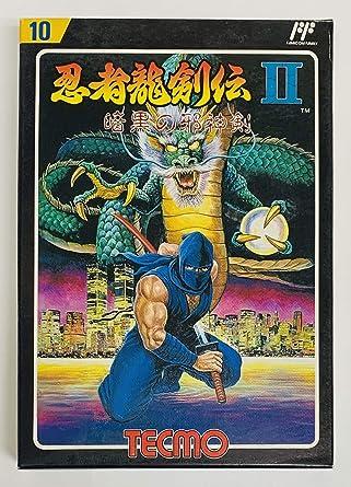 Ninja Ryukenden II: Ankoku no Jashinken (aka Ninja Gaiden 2 ...