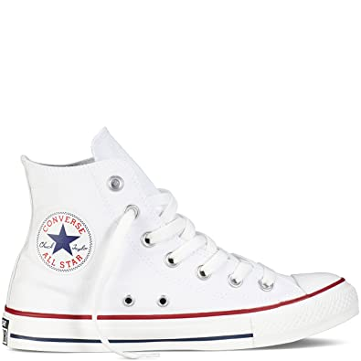 Image Unavailable. Image not available for. Color  Converse Unisex Chuck  Taylor All Star High Top Sneakers Optical White size 10 mens 12 4d0852532