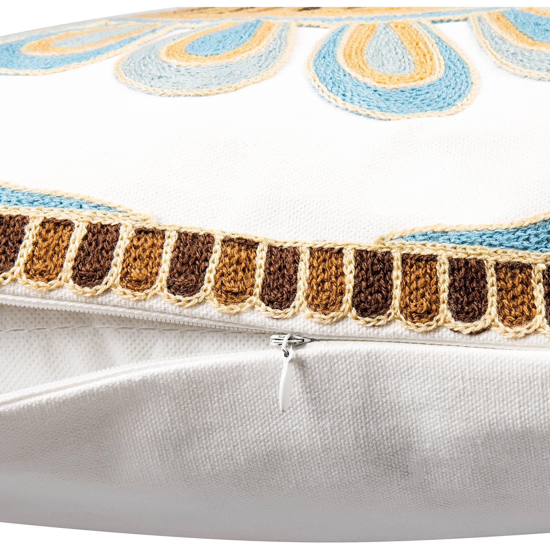 Amazon.com: cosyroom patrón de bordado almohadas manta ...