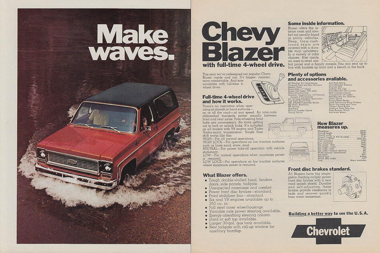 Amazon com: Make waves - Chevrolet Chevy Blazer with 4-wheel