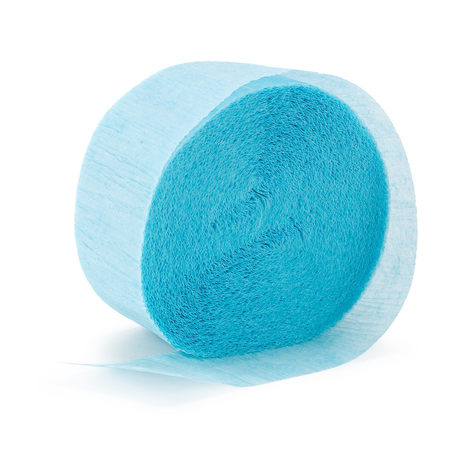 Ice Blue (Light Blue) Streamer (1 roll)