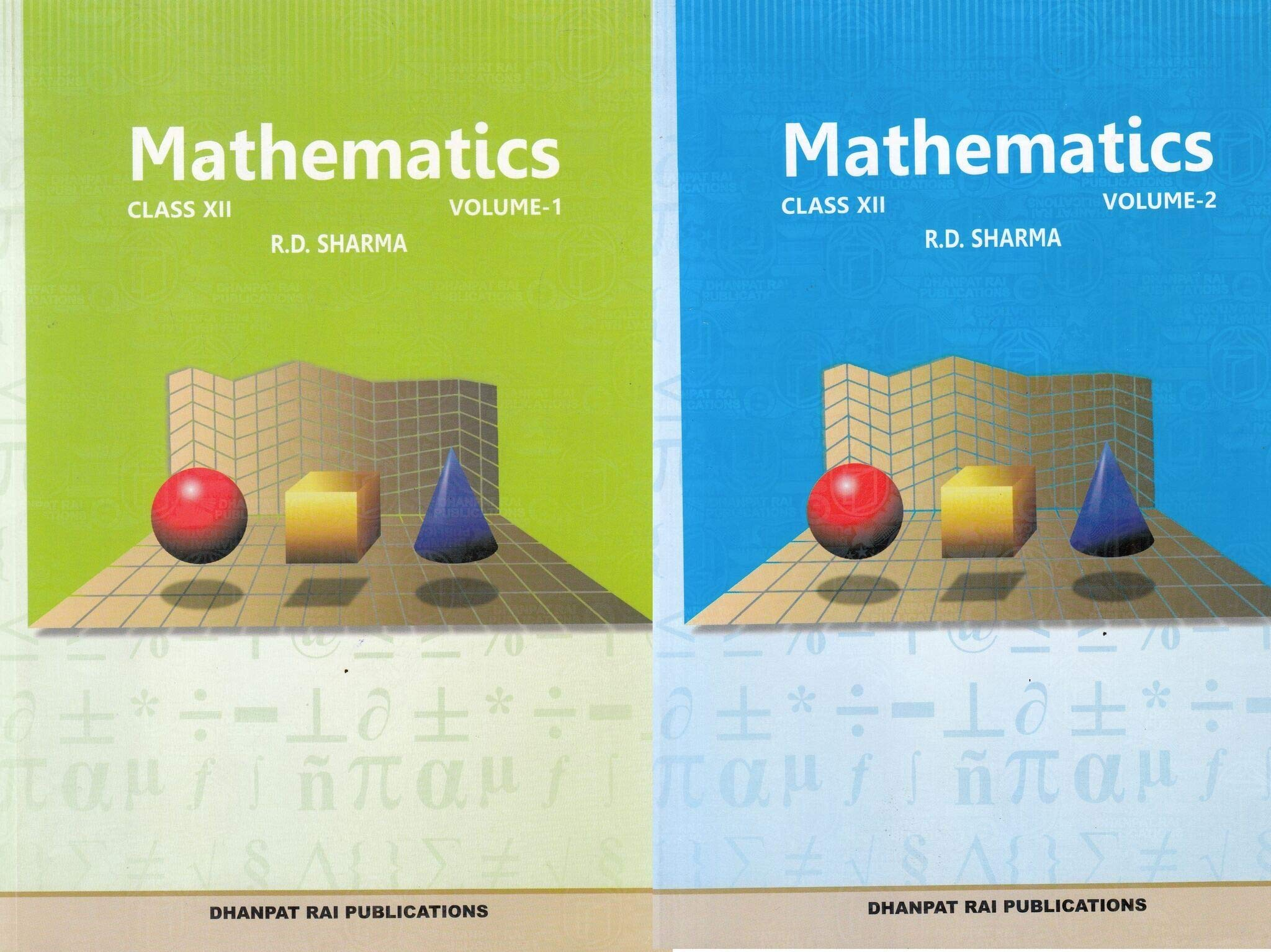 Amazon in: Buy Mathematics for Class 12 by R D Sharma (Set of 2