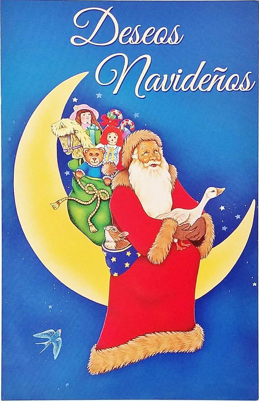 Christmas Wishes In Spanish.Amazon Com Deseos Navidenos Feliz Navidad Merry