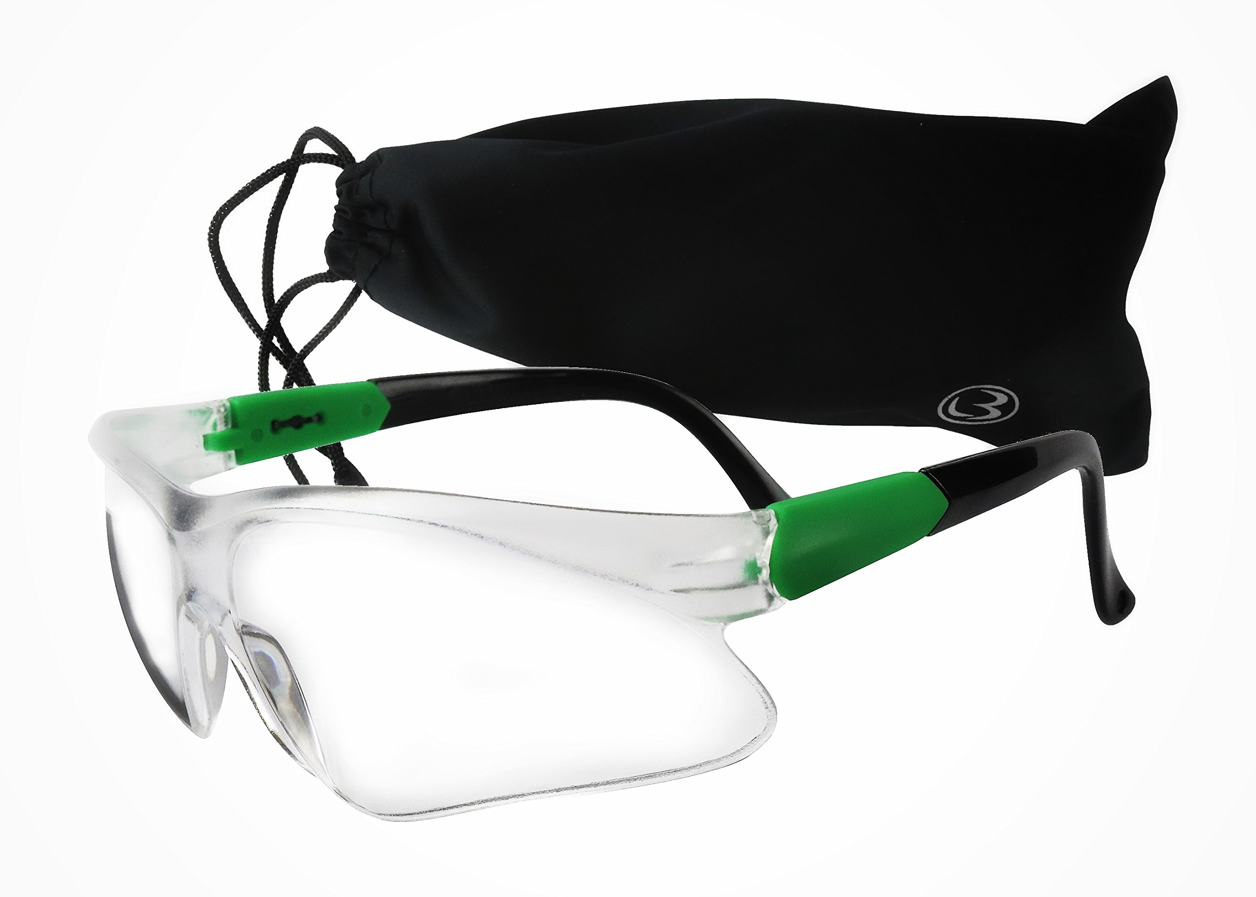 MAGNUS Safety Glasses/Goggles With Clear Anti-Fog, Scratch Resistant Lens - Complete Eye Protection For Work And Shooting Range z87.1 & EN166F Certified
