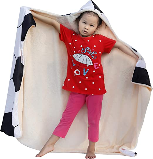 Wearable Blanket Hoodie-Plush Warm Blanket SKOLOO Soft Unicorn Hooded Blanket for Girls Fluffy Blankets for Bed Couch Travel Throw Blankets