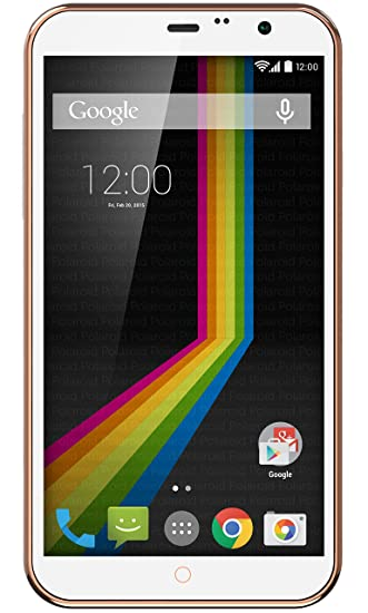 04489adc70 Polaroid A6WH 6-Inch Unlocked Smartphone, 4G Dual SIM GSM, Android 4.4  KitKat, White: Amazon.ca: Cell Phones & Accessories