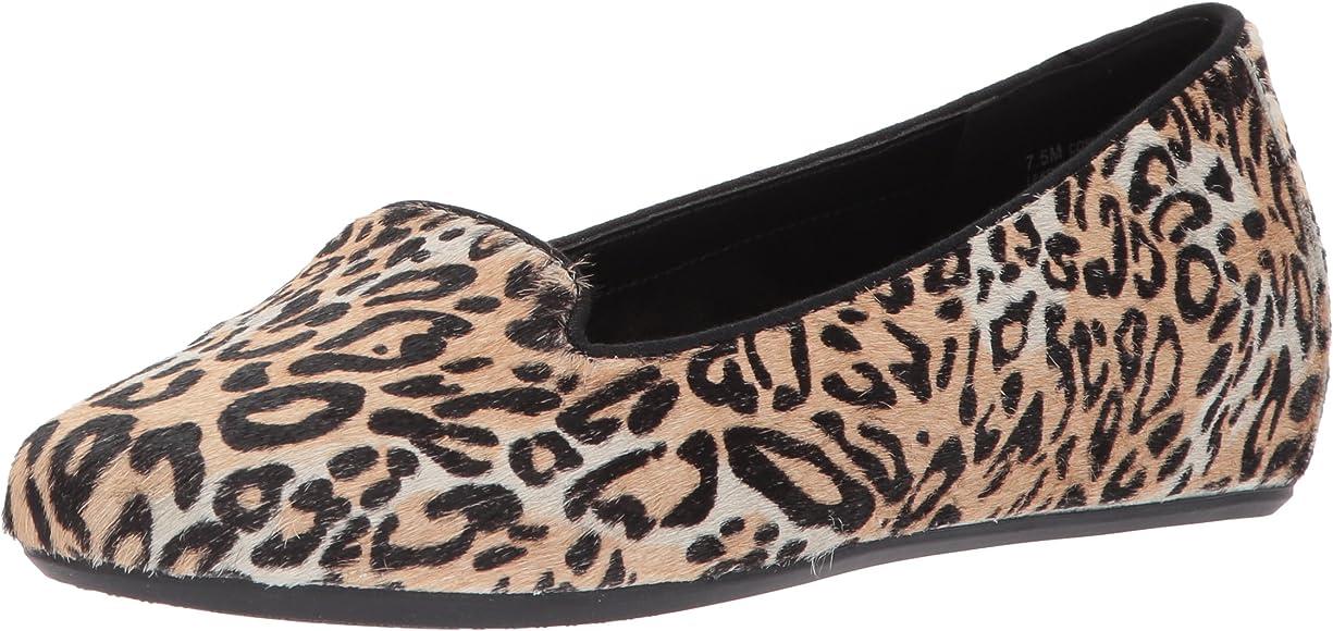 aerosoles leopard loafers