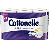 Cottonelle Ultra Comfort Care Double Roll Toilet Paper, 12 Count
