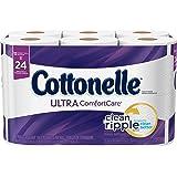 Cottonelle Ultra Comfort Care Toilet Paper, Bath Tissue, 12 Double Rolls
