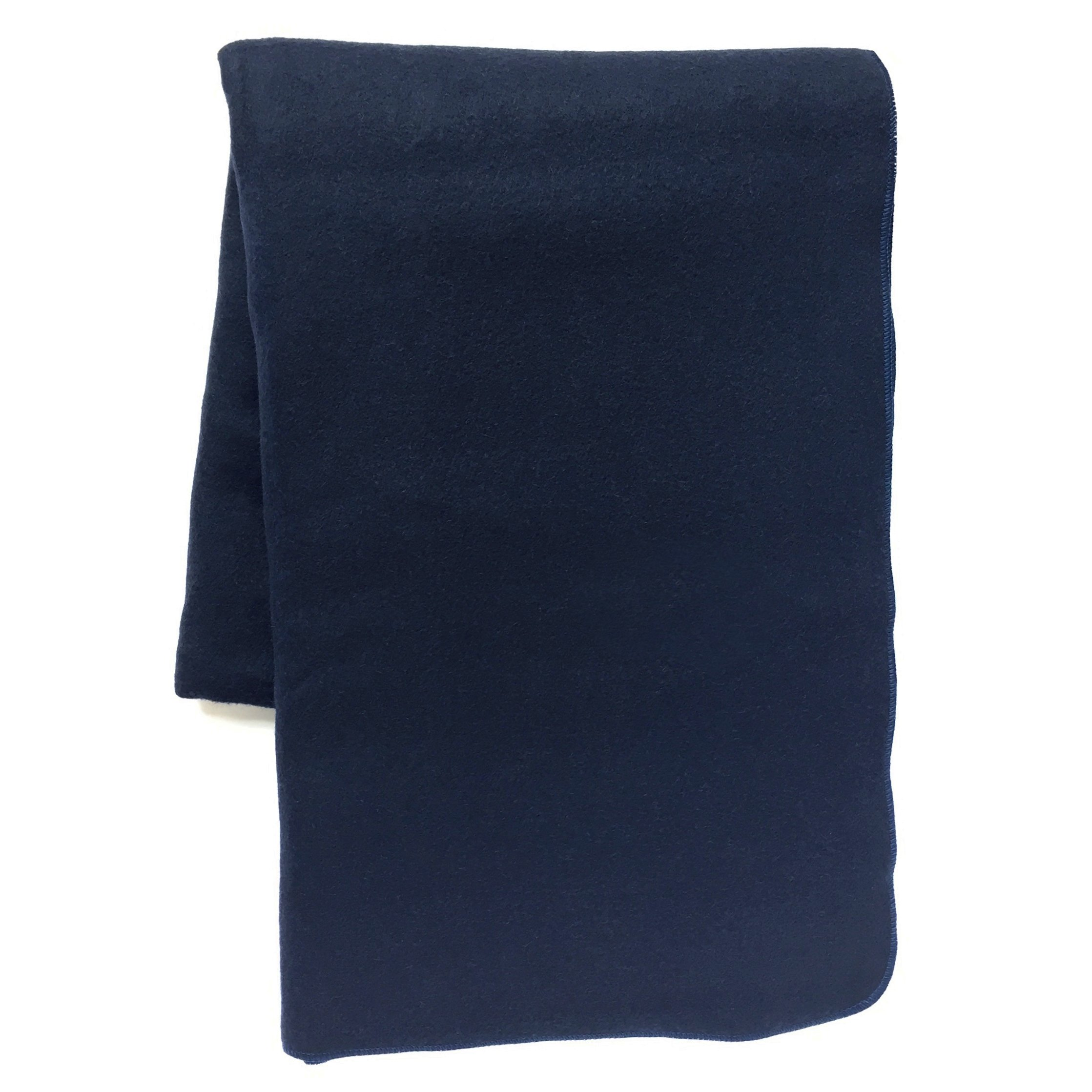 EKTOS 100% Wool Blanket, Navy Blue, Warm & Heavy 5.5 lbs, Large Washable 66''x90'' Size, Perfect for Outdoor Camping, Survival & Emergency Preparedness Use by EKTOS (Image #6)