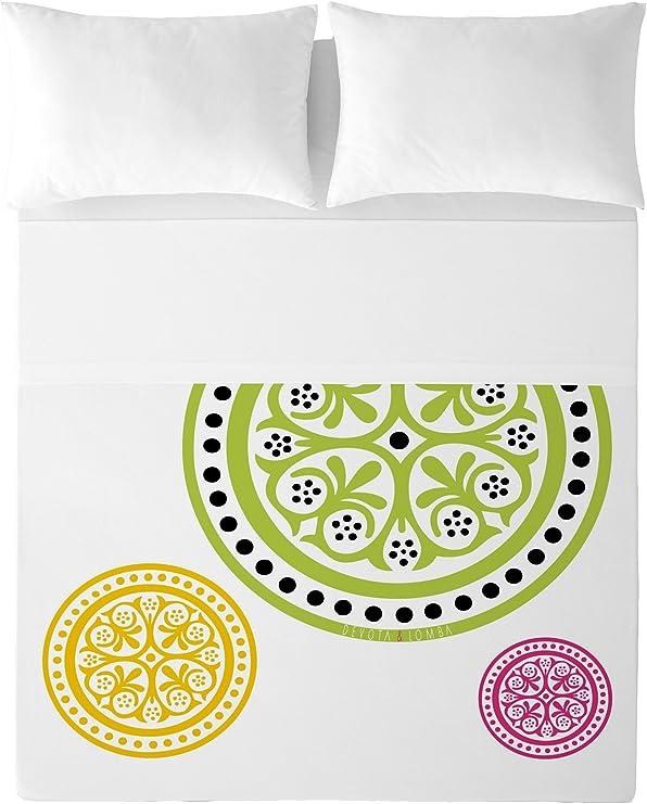 Devota & Lomba Ander Juego de sábanas, Algodón, Multicolor, 150 x ...