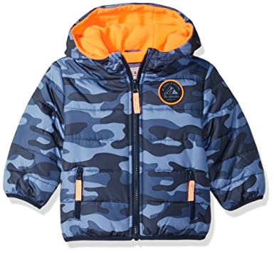 78b2c9d69258 Amazon.com  Carter s Baby Boys Adventure Bubble Jacket  Clothing