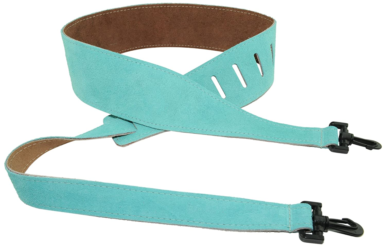 Perris Leathers P25SBJ-209 2.5-Inch Soft Suede Banjo Strap Perris Leathers LTD