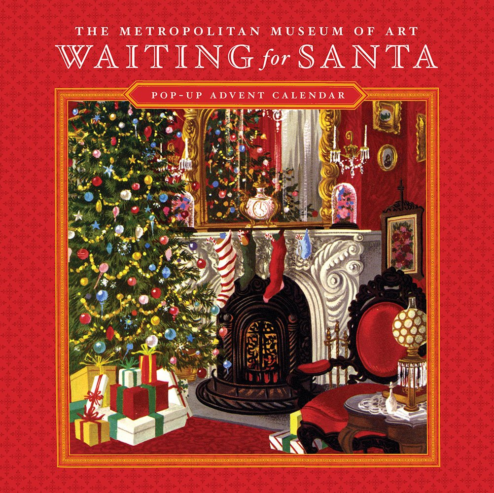 Waiting for Santa Pop-up Advent Calendar: American Artists Group ...