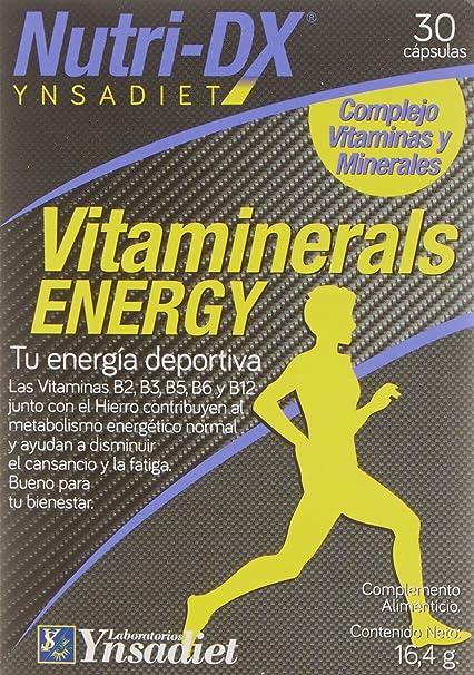 Complejo Vitaminas y Minerales - Formato Capsula - Vitamina C, B3, E, D