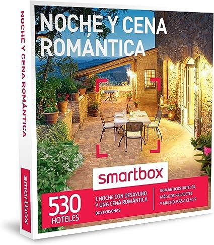 SMARTBOX - Caja Regalo - NOCHE Y CENA ROMÁNTICA - 530 románticos hoteles rurales, mágicos palacetetes, haciendas y mucho más a elegir: Amazon.es: Deportes y aire libre