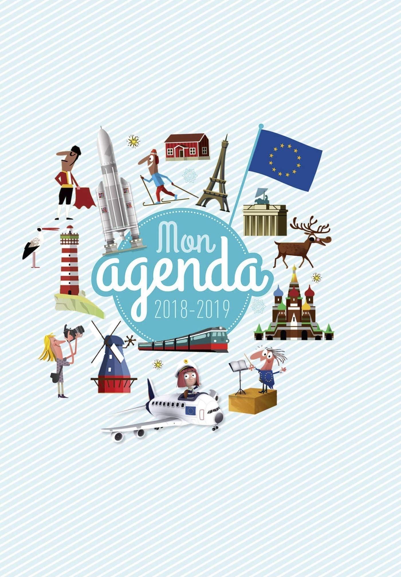 Agenda Scolaire 2018-2019: agenda scolaire 17 18 Eveil ...