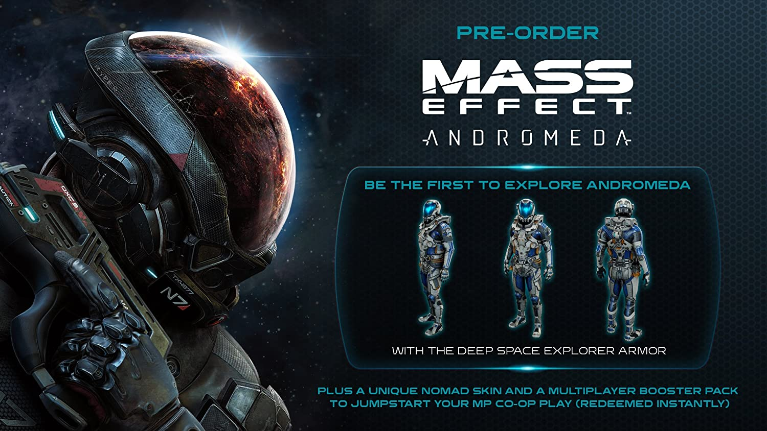 Mass Effect Andromeda (PS4): Amazon co uk: PC & Video Games