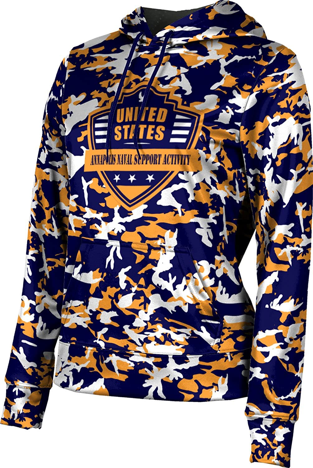 ProSphere Women's Annapolis Naval Support Activity Military Camo Pullover Hoodie