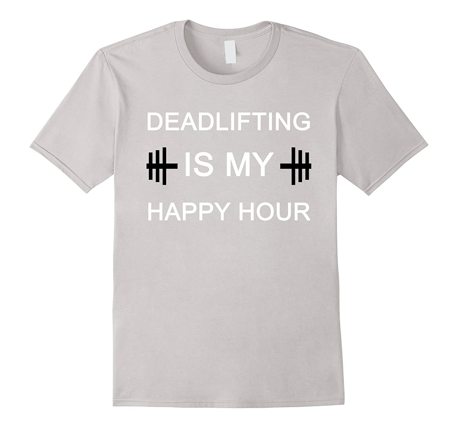 Deadlifting Is My Happy Hour  Funny Lifting Gym Fitness-Vaci