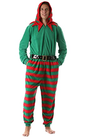 47051061325b Amazon.com   followme Men s Gingerbread Adult Onesie Jumpsuit One ...