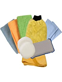 Detailer's Choice 1122 Microfiber Detail Kit, (Pack of 10)
