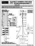 Progress Lighting P4417-77 6-Light Two-Tier