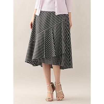 (アマカ) AMACA グログランストライプデザインスカート V5S18753_