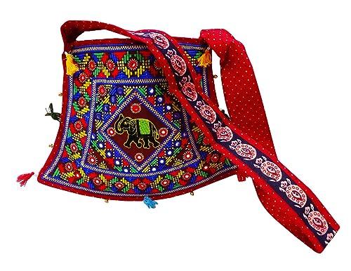 PEEGLI Bolso Tradicional Bordado Étnico Del Bolso Del Hippie Del Boho De Las Mujeres Del Bolso: Amazon.es: Zapatos y complementos