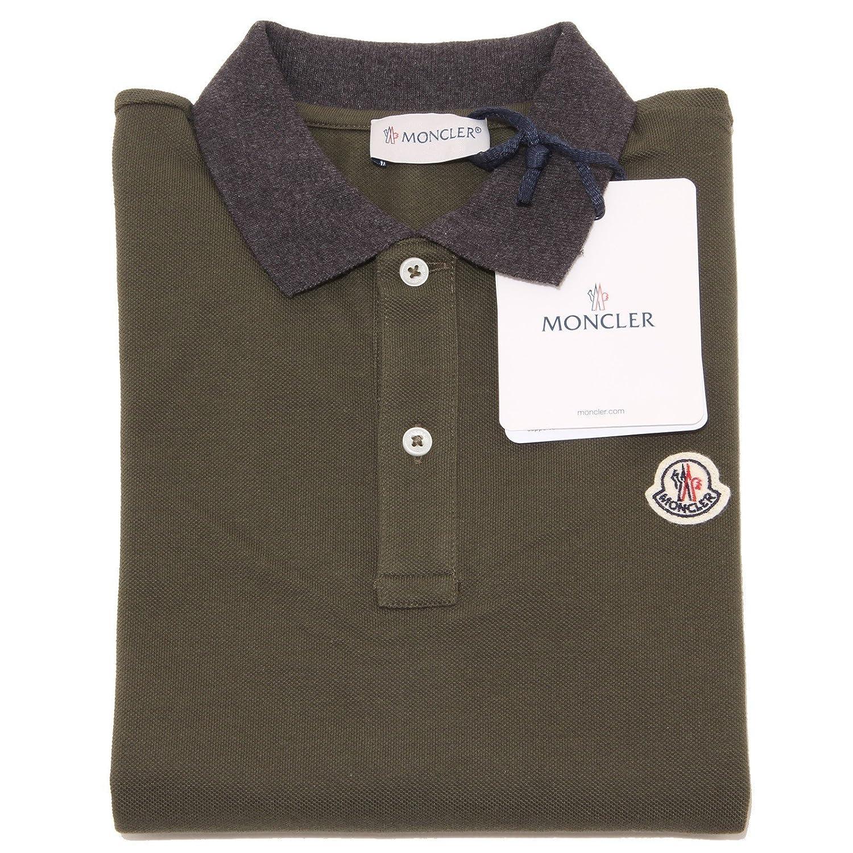 4151o Polo Niño Verde Moncler manga larga Camisetas T-shirts Kids ...