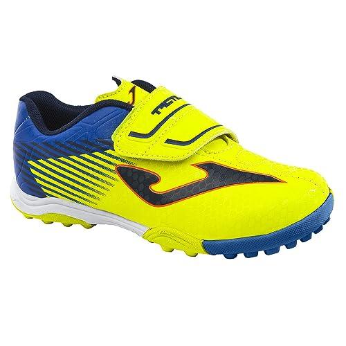 sports shoes 00386 abca1 Joma Scarpe Calcetto Bambino Tactil Jr 811 Fluor Turf (EU 27 ...