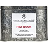 Chesapeake Bay Candle Heritage Two-Wick Tin Scented Candle, First Bloom