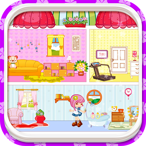 Small People House, Decoration Games