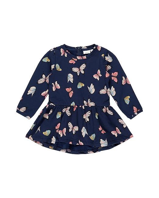e6f457d87 NAME IT - Blusa - para niña azul oscuro 4 años : Amazon.es: Ropa y ...