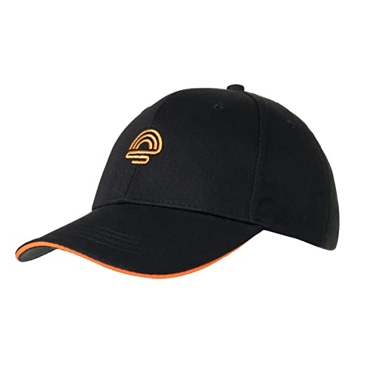 8a36229fd2bab sunpirit Embroidered Baseball Cap for Men and Women Adjustable Buckle Strap  (Black)