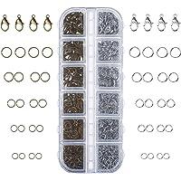 Kit de 1104 Piezas Accesorios de Joyería Broches