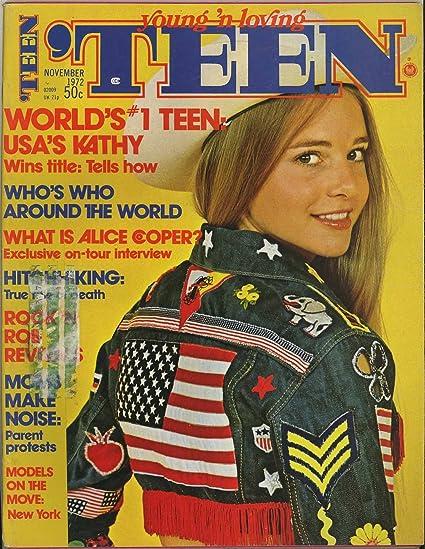 Teen Magazine - November 1972 - Fashion Beauty & Entertainment for