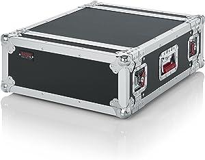 """Gator cases G-TOUR Audio Road Rack with Heavy-Duty Tour Grade Hardware; 17"""" Rackable Depth, 4U (G-TOUR 4U)"""