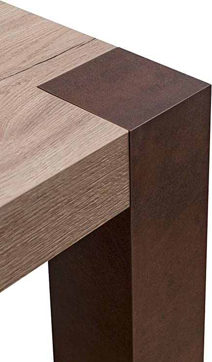 Table Console Extensible Modele Venere Chene De Sapin