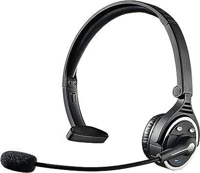 Amazon Com Zelher P30 Wireless Noise Cancelling Bluetooth Headset Bluetooth Over Head Headphones With Bluetooth Headset Microphone Electronics