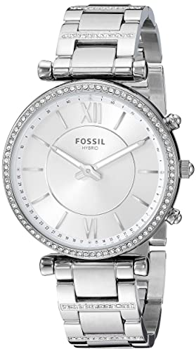 Amazon.com: Fossil FTW5041 Reloj inteligente híbrido para ...