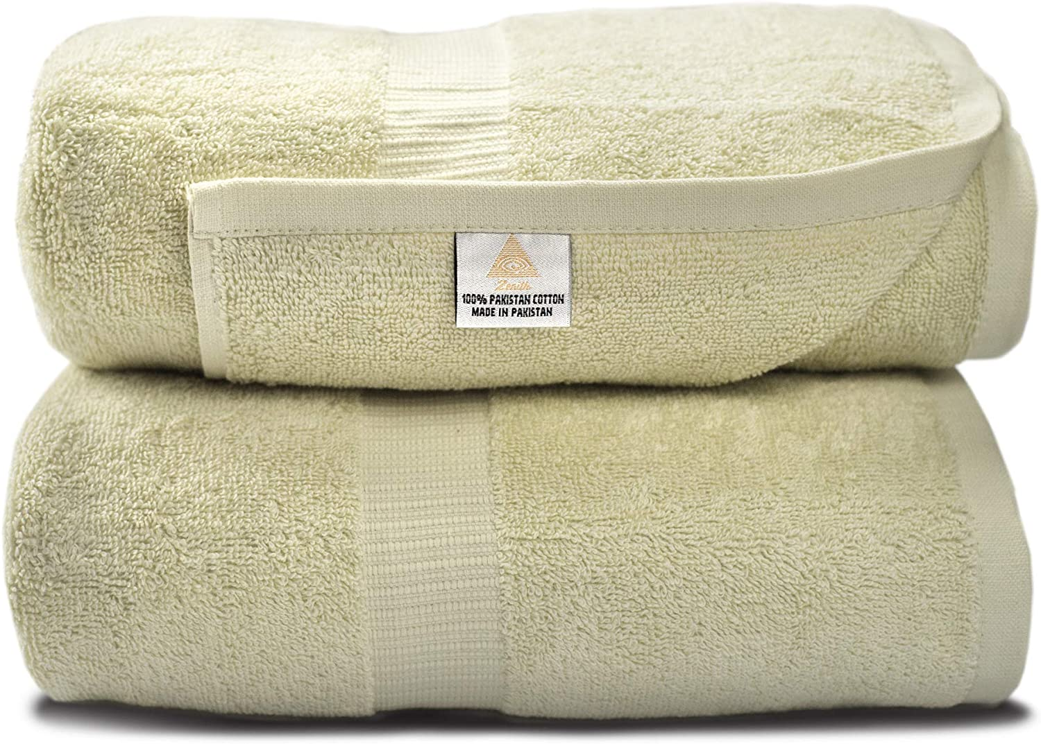 Zenith Luxury Bath Sheets - (2 Piece) Extra Large Size 40 X 70 Luxury Bath Sheets, Beach Towels, 600 GSM, Towels Bathroom Sets Clearance, Extra Large Bath Towels ,100% Cotton: Kitchen & Dining