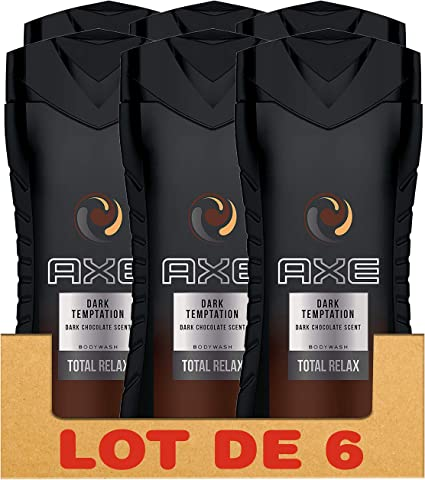 Axe Gel de ducha hombre Dark Temptation 250 ml – PACK DE 6: Amazon ...