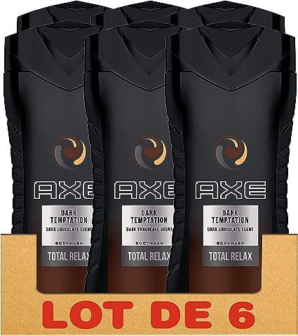Axe Gel de ducha hombre Dark Temptation 250 ml – PACK DE 6: Amazon.es: Belleza