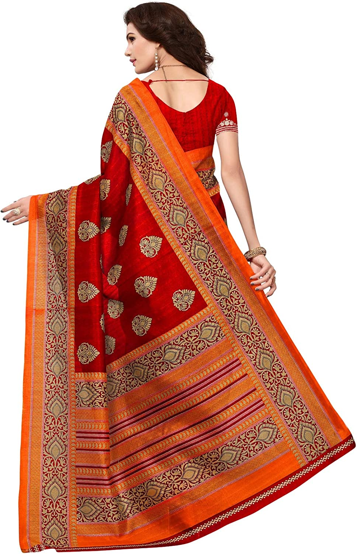 CRAFTSTRIBE Indian Blue Saree Party Wear Ethnic Wedding Bollywood Casual Bridal New Sari