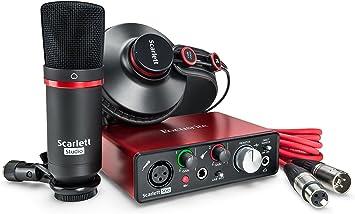 Amazon.com: Focusrite Scarlett Studio (2ª generación ...