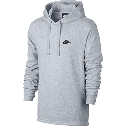 Nike Jersey Club Sudadera, Hombre, (Birch Heather/Black), M