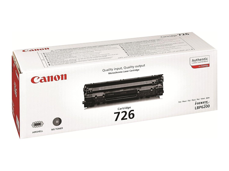 Canon cartucho 726 de tóner original negro para impresoras láser i ...