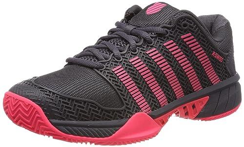 8b4b2433 K-Swiss Performance KS Tfw Hypercourt Exp HB, Zapatillas de Tenis para Mujer,  Blanco (Magnet/Pink 43), 37 EU: Amazon.es: Zapatos y complementos