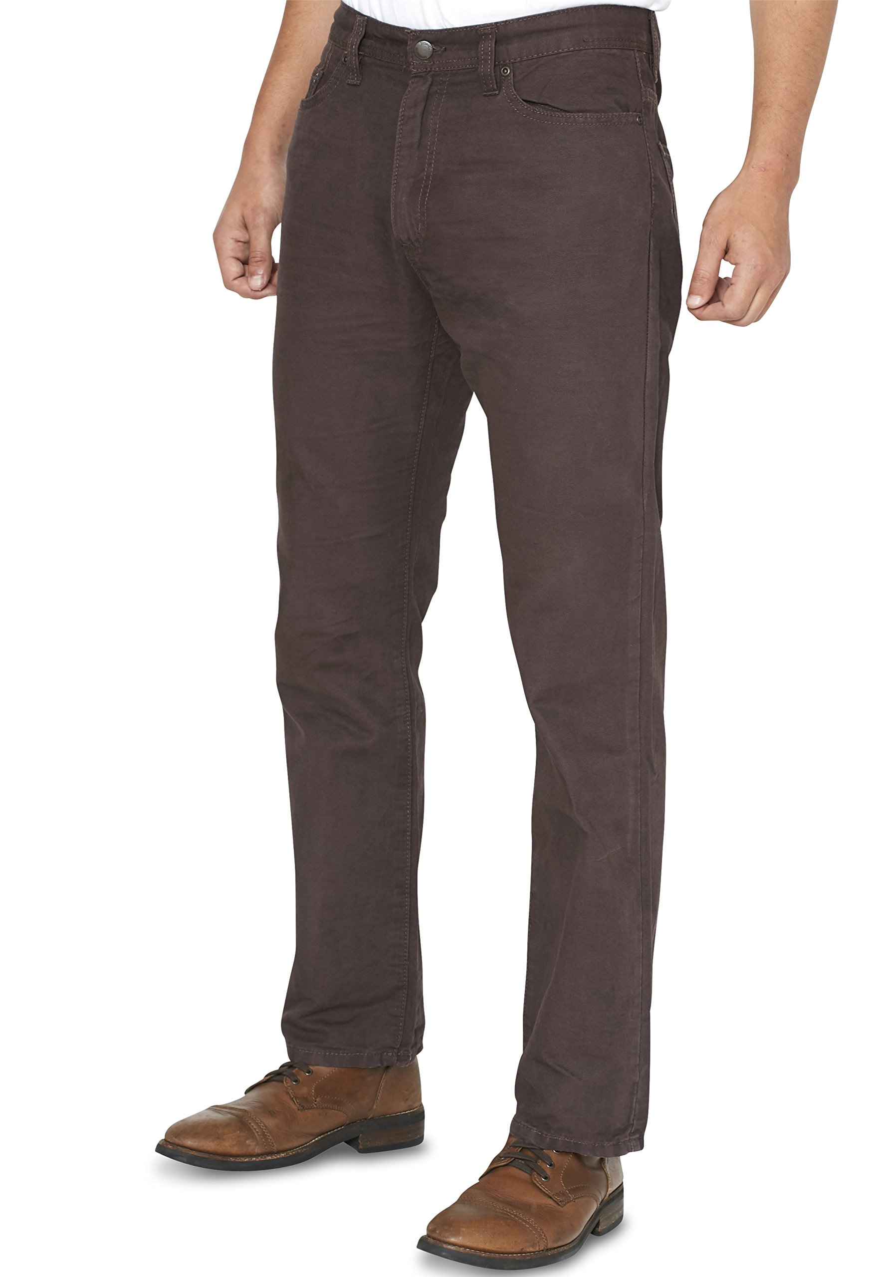 Outdoor Life Men's Straight Fit Canvas Pants – Size 36 x 30